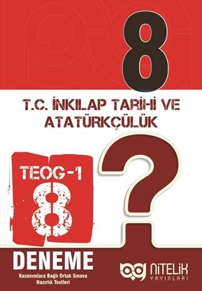 Resim 8.SINIF TEOG-1 T.C. İNK. TARİHİ VE ATATÜRK.(8 DENEME)