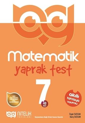 Resim 7.SINIF MATEMATİK YAPRAK TEST ( 40 TEST )