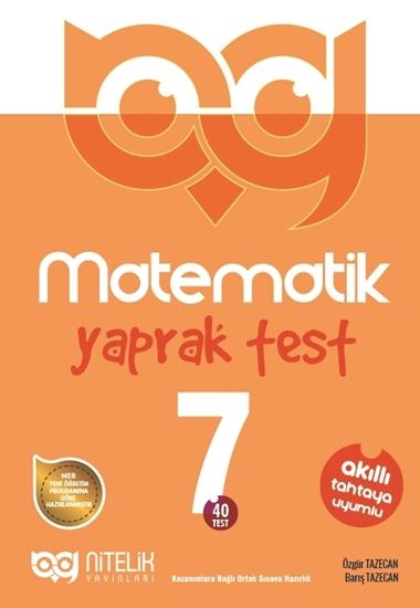 resm 7.SINIF MATEMATİK YAPRAK TEST ( 40 TEST )