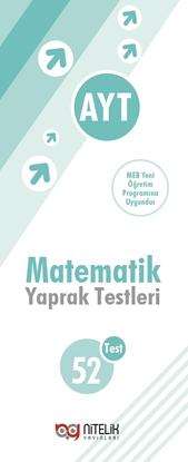 Resim AYT MATEMATİK YAPRAK TESTLERİ ( 52 TEST )