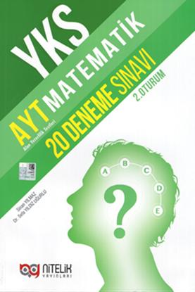 Resim YKS AYT MATEMATİK 20 DENEME SINAVI