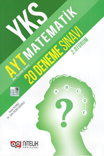 resm YKS AYT MATEMATİK 20 DENEME SINAVI