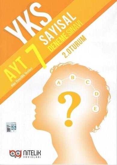 resm YKS AYT SAYISAL 7 DENEME SINAVI ( 2. OTURUM )