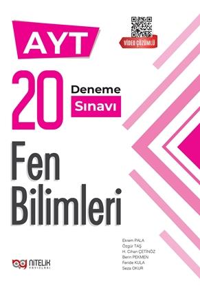Resim AYT FEN BİLİMLERİ 20 DENEME SINAVI