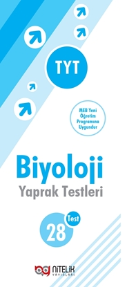 Resim YKS TYT BİYOLOJİ YAPRAK TEST ( 28 TEST )